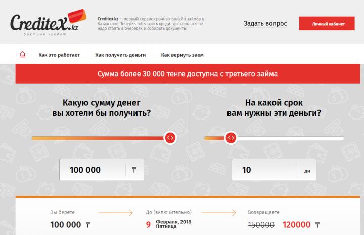 онлайн кредит без процентов в казахстане 1000 кредитов бесплатно