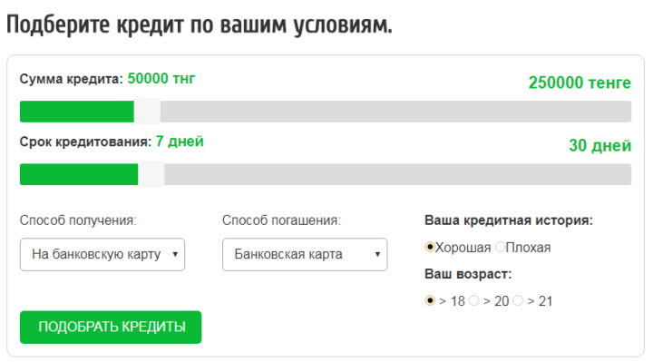 Кредит на карту онлайн 250000 ооо микрокредит краснодар